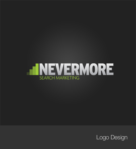Nevermore Search Logo
